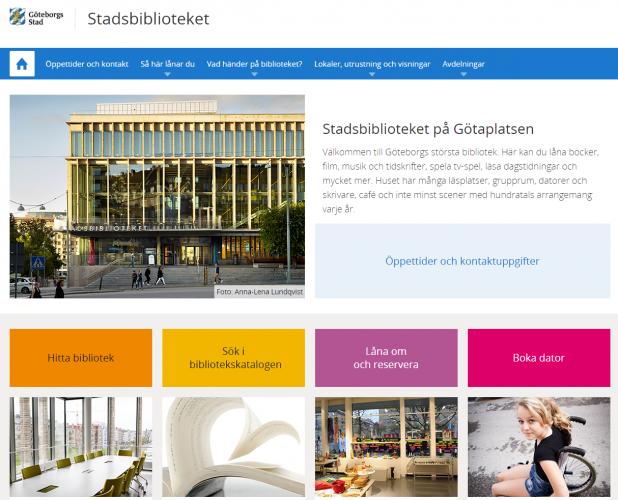 Hundratals nya smarta och vackra sidor på goteborg.se - Jippee!!